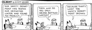 Dilbert-water-department-drinks-bottled-water